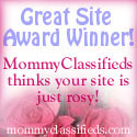 Award from MommyClassifieds.com
