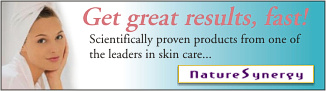 NatureSynergy - Scientifically proven products from one of the leaders in skin care...