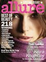 "Allure October 2007 Cover: Keira Knightley - Allure magazine is the source for the latest trends in fitness, health, nutrition, fashion and beauty. Check out the cutting-edge beauty picks featured in the most recent issue at sephora, and find out what makes Allure, ""The Beauty Expert."""