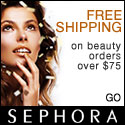 SEPHORA - FREE SHIPPING on beauty orders over $75