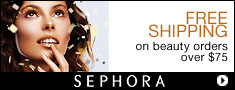 FREE SHIPPING on beauty orders over $75 at Sephora